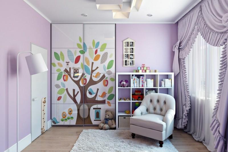 Дизайн проект детская комната