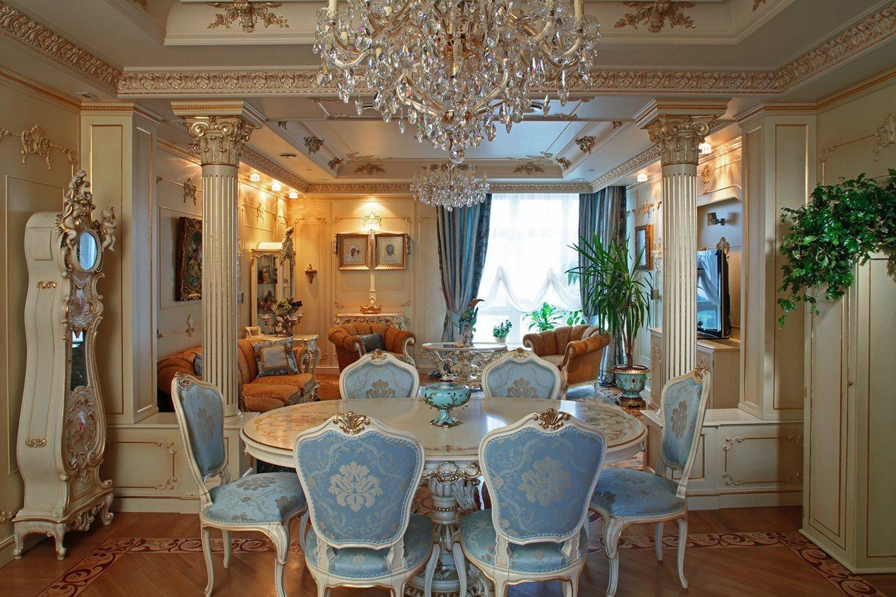 Baroque-Style-Interior-design-Dining-room