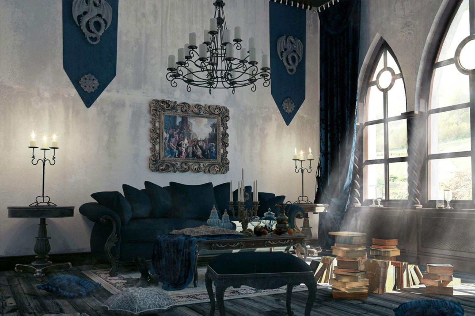 dizajn-kvartir-v-goticheskom-stile