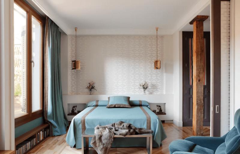 20 цветовых комбинаций для дизайна спальни