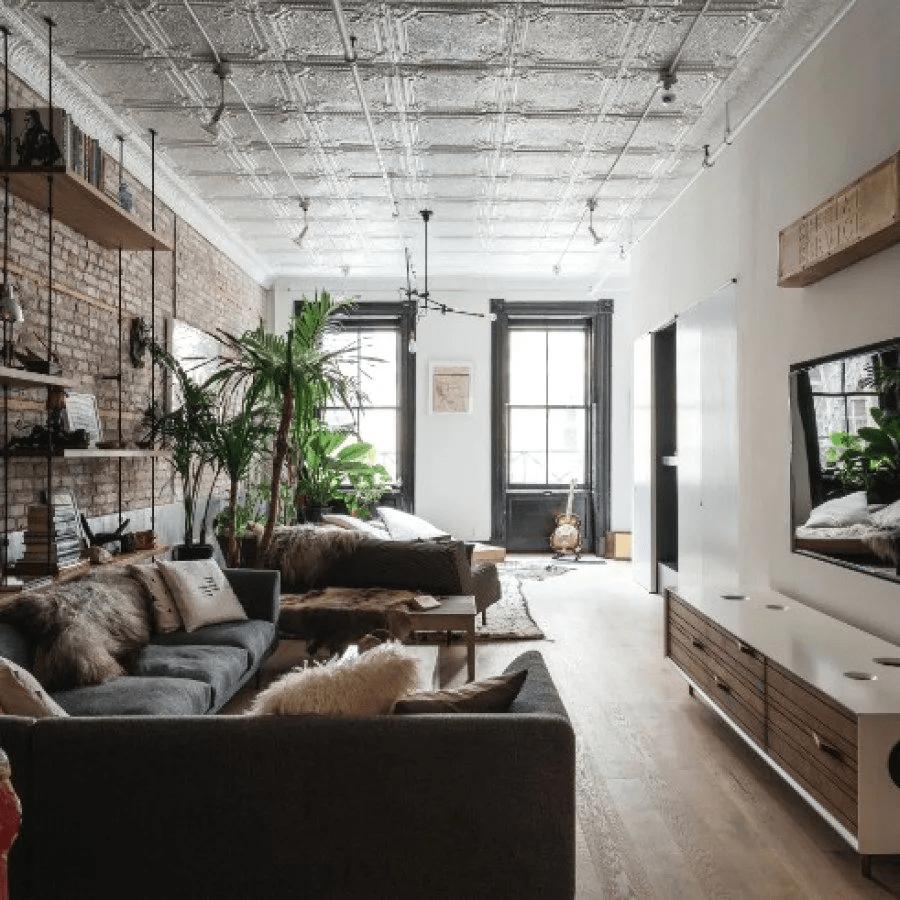 Нью-йоркский стиль в интерьере