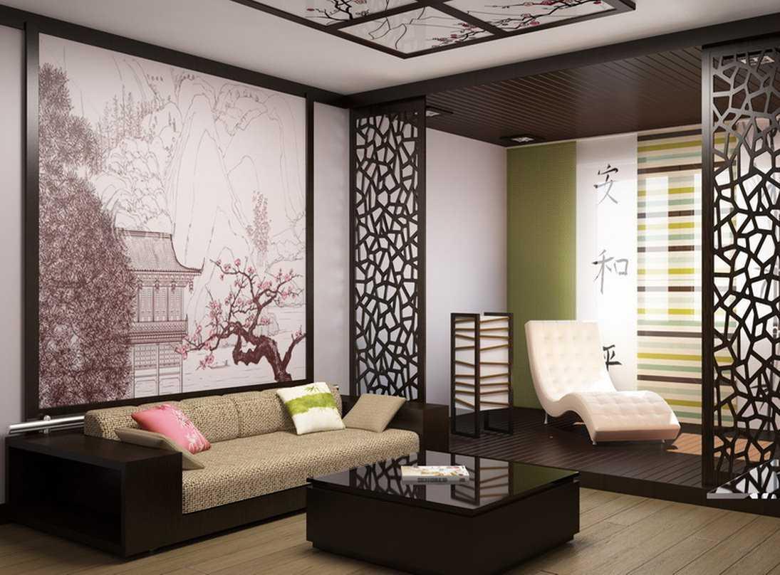 Дизайн интерьеров в Японском стиле