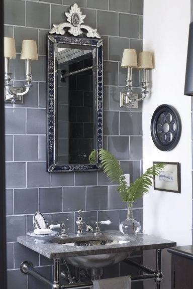 7 идей оформления ванной в сером цвете