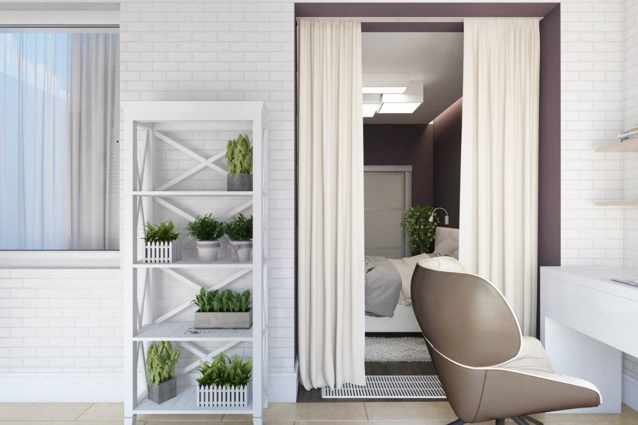 dizayn-interiera-odnokomnatnoy-kvartiry